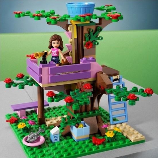 LEGO FRIENDS 3065 - Ngôi nhà trên cây của OLIVIA - Cho bé cảm giác thám hiểm và khám phá. Chỉ 419.000đ/hộp