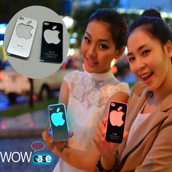Vỏ iPhone 4/4S đèn Led WOW Case, cực cool cực sành điệu - Chỉ 250.000đ/01 Chiếc