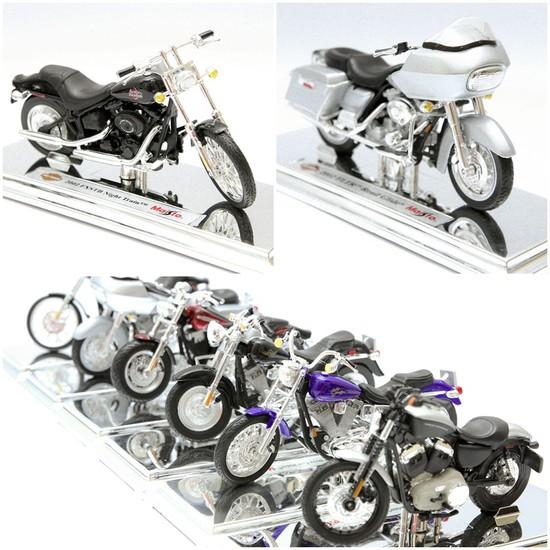 Mô hình xe máy Harley Davidson tỉ lệ 1:18 - Thật tới từng chi tiết - Chỉ với 115.000đ