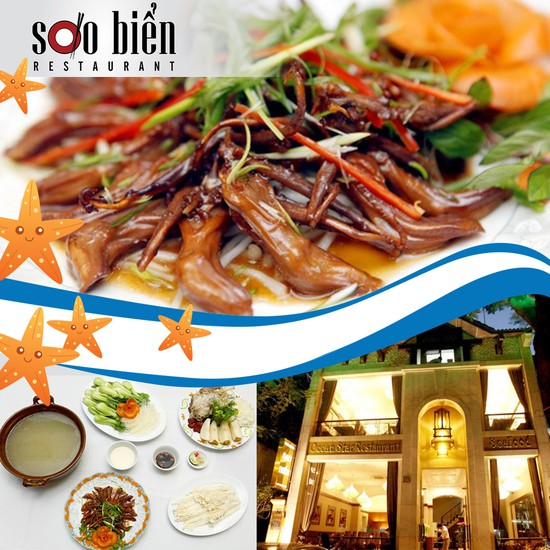 Set ăn tại Nhà hàng Sao Biển. Chỉ với 274.000đ