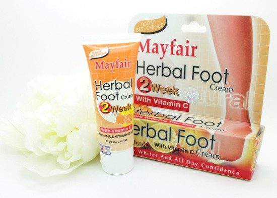Kem trị nứt gót chân Mayfair - Cho bạn một đôi gót hồng - Chỉ với 78.000đ