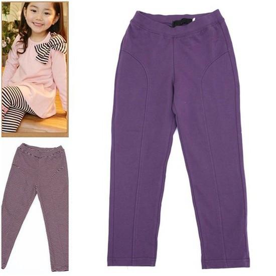 Quần legging cotton cho bé gái