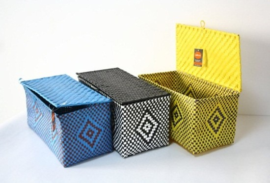 Sở hữu Giỏ đựng đồ handmade xinh xắn, nhỏ gọn - Giúp bạn sắp xếp vật dụng ngăn nắp và sạch sẽ - Chỉ với 75.000đ/chiếc