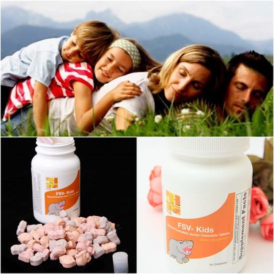 kẹo nhai bổ sung vitamin và khoáng chất cho bé