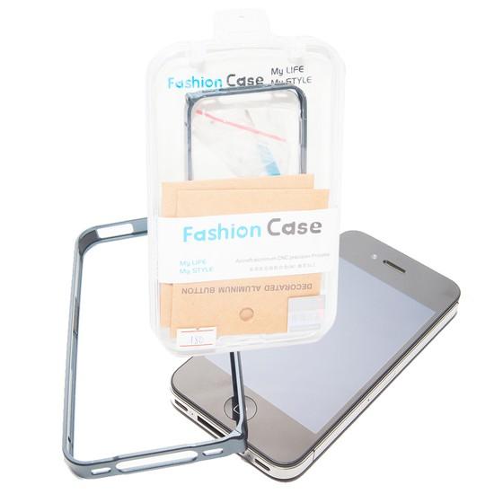 Combo viền nhôm iphone 4/4S và nút home nhôm