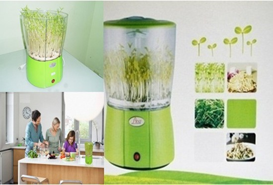 Máy trồng rau mầm Lino LN 810 - Tự động làm rau sạch, bảo vệ sức khỏe gia đình - Chỉ với 590.000đ