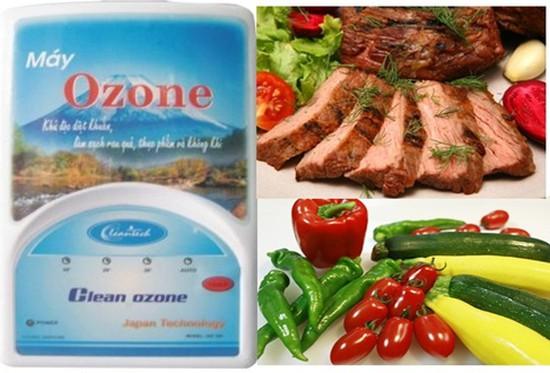 Máy khử độc Ozone Cleantech làm sạch rau quả, thực phẩm, không khí - Chỉ với 720.000đ