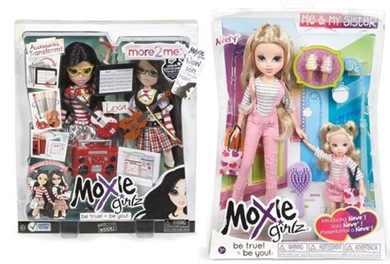 Bộ Búp bê thời trang tuyệt đẹp MOXIE GIRLZ: More 2 Me hoặc Me & My Sister của Mỹ - Quà tặng cho bé gái. Chỉ 399.000đ