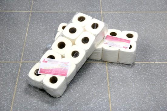 Combo 2 bịch giấy vệ sinh chất lượng cao mềm mịn, dễ tan trong nước. Chỉ 115.000đ