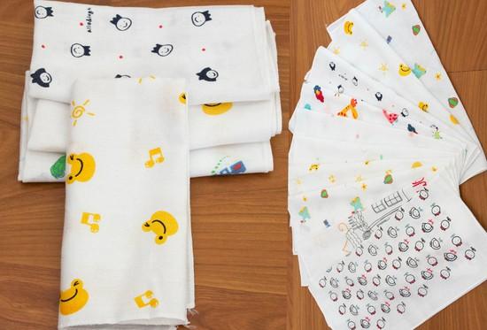 Bộ 10 Khăn sữa phong cách Hàn Quốc cho thiên thần bé nhỏ của bạn - Chỉ 100.000đ