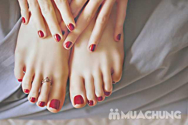 Voucher sơn sửa móng tay hoặc chân tại Maison Nail - 5