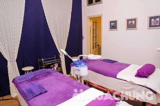 Thanh lọc trắng sáng da mặt với mặt nạ trà xanh Lavender AHA Salon & Spa - 31