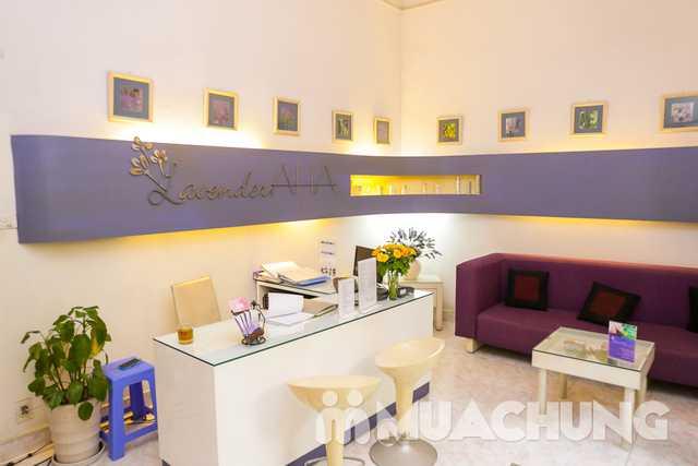 Thanh lọc trắng sáng da mặt với mặt nạ trà xanh Lavender AHA Salon & Spa - 22