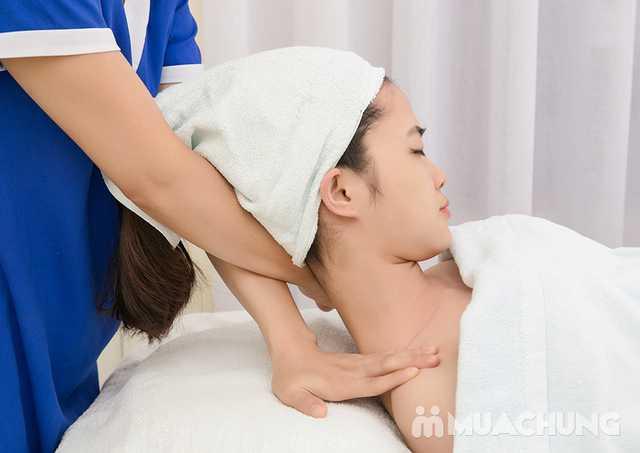 Massage cổ vai gáy thư giãn với tinh dầu Lavender Lavender AHA Salon & Spa - 6