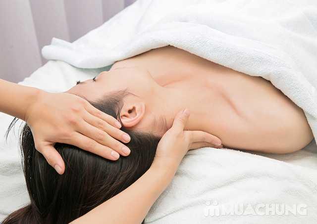 Massage cổ vai gáy thư giãn với tinh dầu Lavender Lavender AHA Salon & Spa - 8