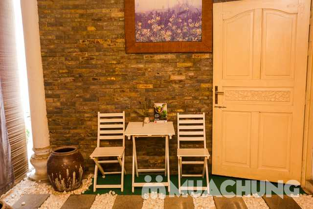 Thanh lọc trắng sáng da mặt với mặt nạ trà xanh Lavender AHA Salon & Spa - 3