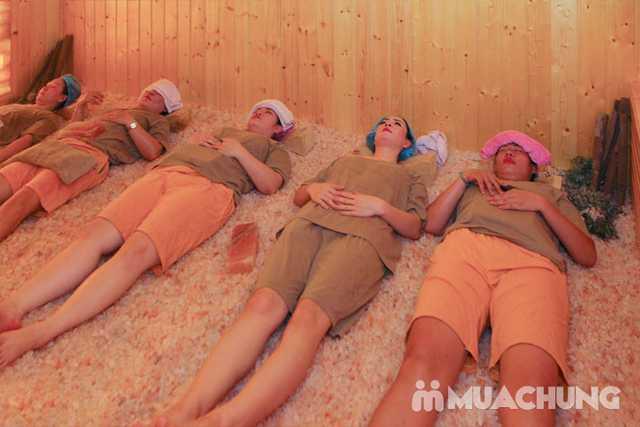 Xông hơi đá muối đẳng cấp kèm massage body 90' Spa Thảo - 5