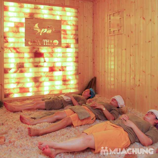 Xông hơi đá muối đẳng cấp kèm massage body 90' Spa Thảo - 4