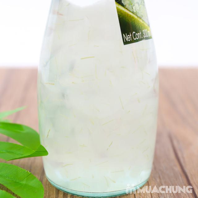 6 chai nước nha đam vị vải hoặc nho- NK Thái Lan - 7