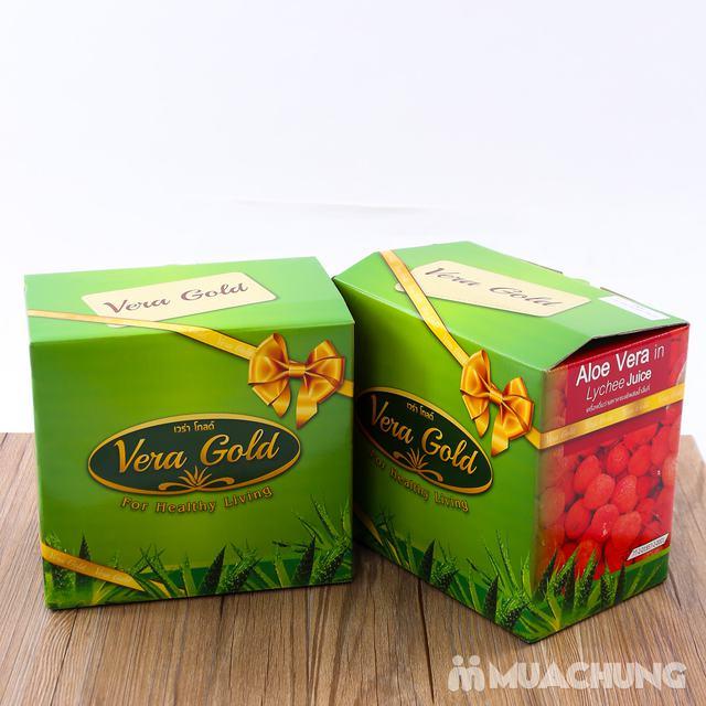 6 chai nước nha đam vị vải hoặc nho- NK Thái Lan - 10