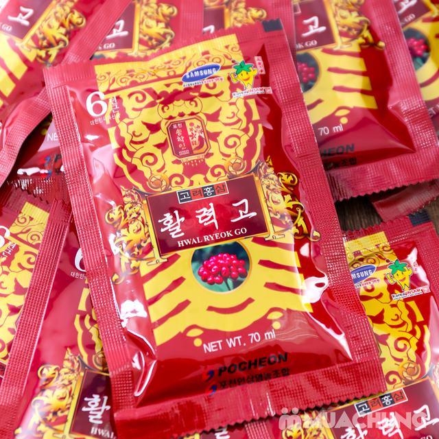 Nước hồng sâm Hwal Ryeok Go Hàn Quốc 30 gói - 3