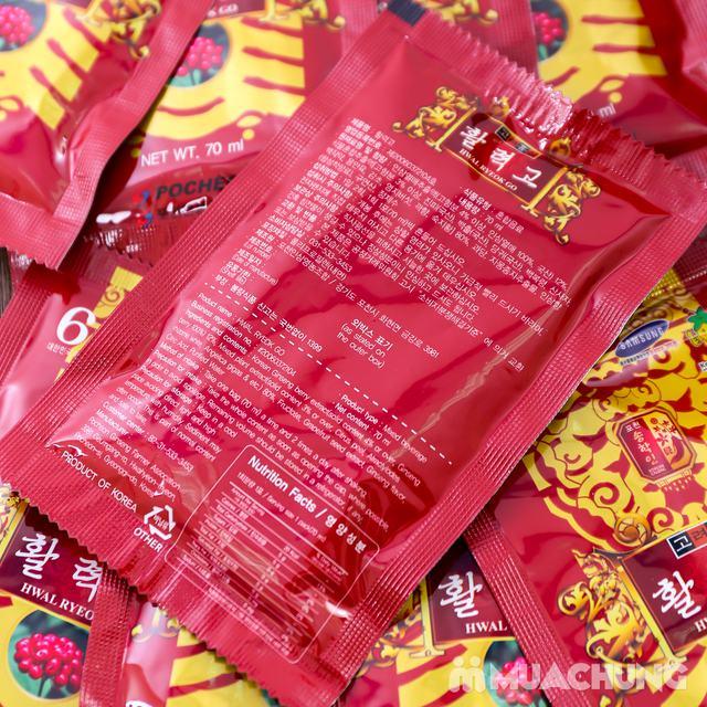 Nước hồng sâm Hwal Ryeok Go Hàn Quốc 30 gói - 4
