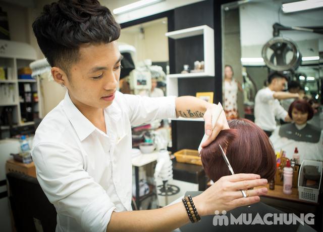 1 trong 10 dịch vụ làm tóc Tặng phủ bóng tóc tại Nhung Tresses Hair Salon - 2