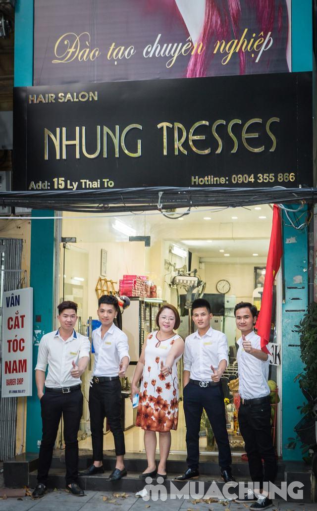 1 trong 10 dịch vụ làm tóc Tặng phủ bóng tóc tại Nhung Tresses Hair Salon - 1