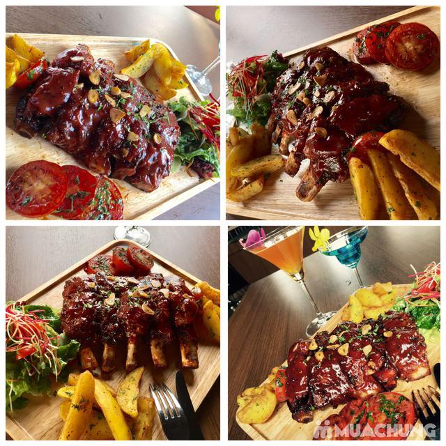 Set sườn nướng tảng sốt BBQ + đồ uống đẳng cấp 4* Authentic Panorama - 1