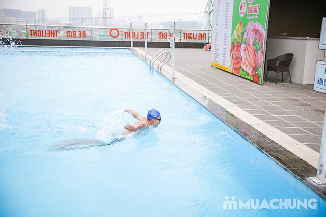 Vé bơi 5 lượt người lớn - Bể ngoài trời The Light - 2