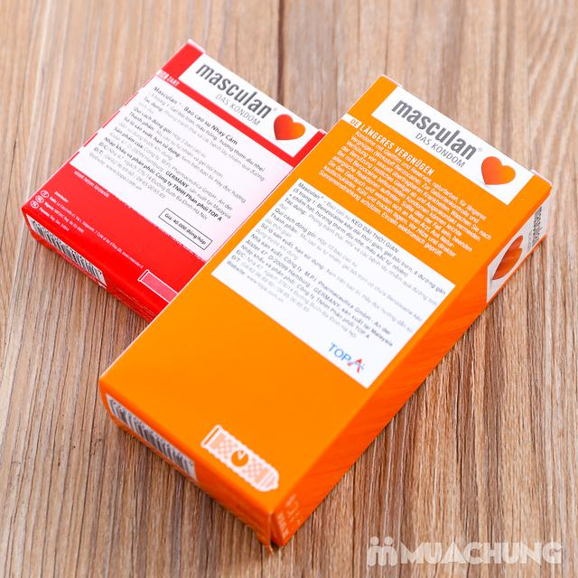 Combo 2 hộp bao cao su Masculan thương hiệu Đức - 11