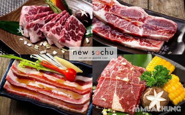 Buffet nướng lẩu Nhật Hàn tại nhà hàng New Sochu- 123 Mai Hắc Đế - 10