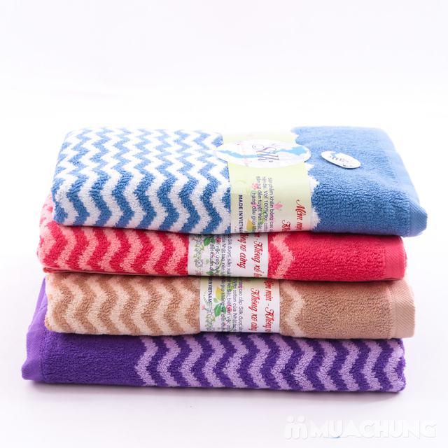 Khăn tắm Silk khổ lớn - 100% cotton tự nhiên - 6