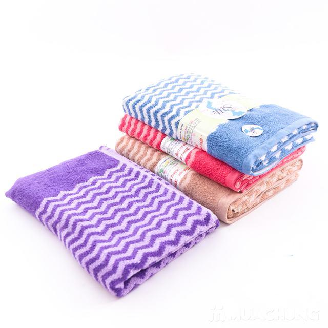 Khăn tắm Silk khổ lớn - 100% cotton tự nhiên - 2