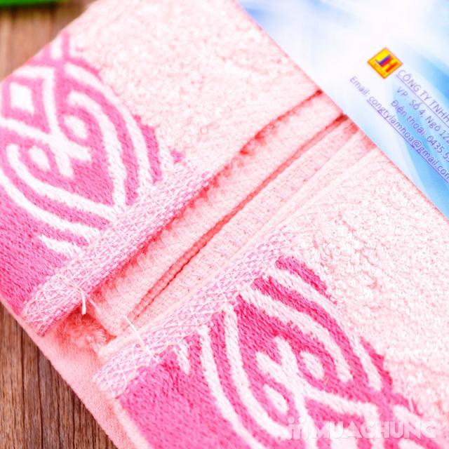 Combo 5 khăn mặt Silk - 100% sợi tre thiên nhiên - 9
