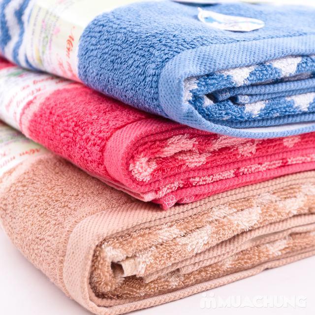 Khăn tắm Silk khổ lớn - 100% cotton tự nhiên - 1