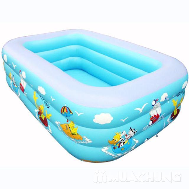 Bể bơi chữ nhật 1m8 - 1
