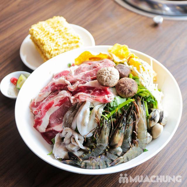 Buffet Nướng Lẩu Không Khói - Ăn Không Giới Hạn, Free Đồ Uống Tại Buffet BBQ & Hot Pot Hong Kong New - 36