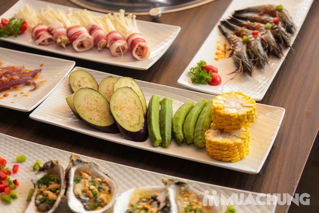 Buffet Nướng Lẩu Không Khói - Ăn Không Giới Hạn, Free Đồ Uống Tại Buffet BBQ & Hot Pot Hong Kong New - 41
