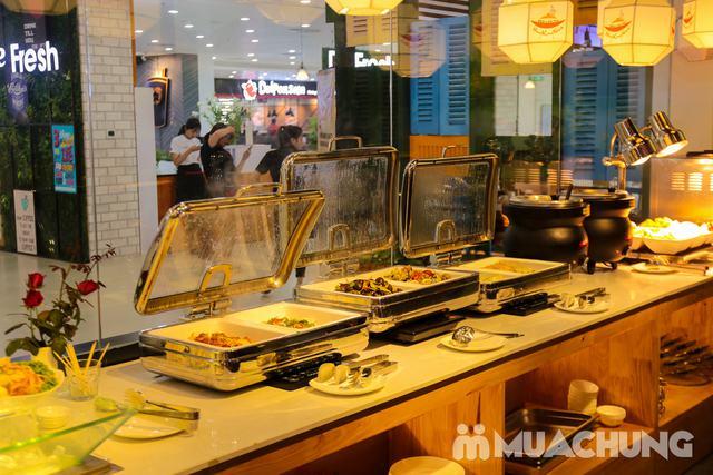 Buffet Nướng Lẩu Không Khói - Ăn Không Giới Hạn, Free Đồ Uống Tại Buffet BBQ & Hot Pot Hong Kong New - 86
