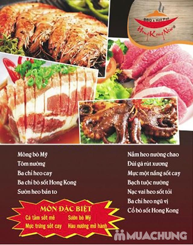 Buffet Nướng Lẩu Không Khói - Ăn Không Giới Hạn, Free Đồ Uống Tại Buffet BBQ & Hot Pot Hong Kong New - 61