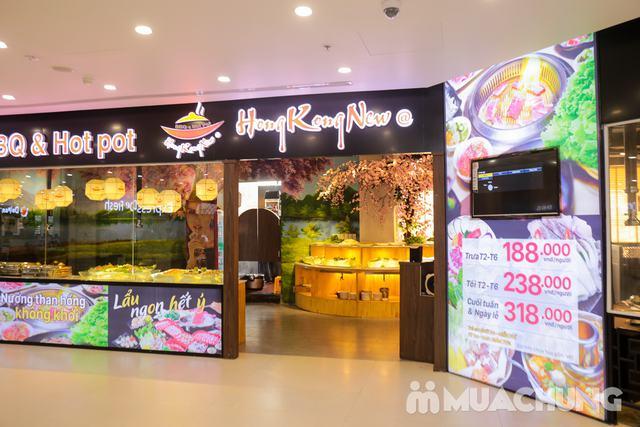 Buffet Nướng Lẩu Không Khói - Ăn Không Giới Hạn, Free Đồ Uống Tại Buffet BBQ & Hot Pot Hong Kong New - 77
