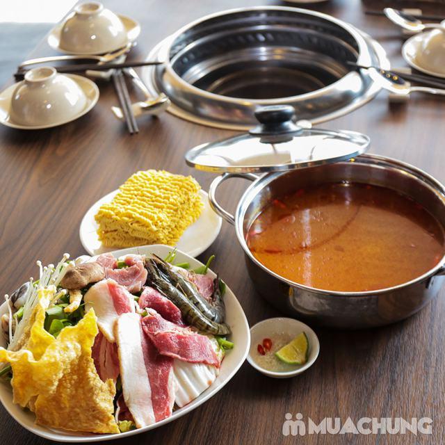 Buffet Nướng Lẩu Không Khói - Ăn Không Giới Hạn, Free Đồ Uống Tại Buffet BBQ & Hot Pot Hong Kong New - 35