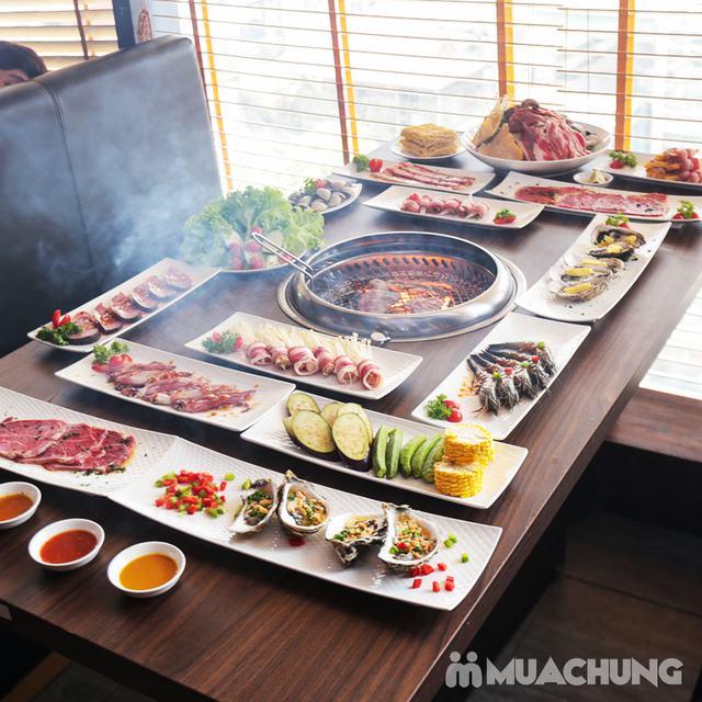 Buffet Nướng Lẩu Không Khói - Ăn Không Giới Hạn, Free Đồ Uống Tại Buffet BBQ & Hot Pot Hong Kong New - 20