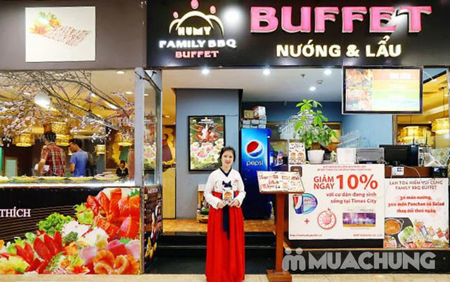Buffet nướng lẩu menu VIP tặng Pepsi không phụ thu Family BBQ Buffet - 63
