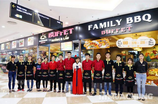 Buffet nướng lẩu menu VIP tặng Pepsi không phụ thu Family BBQ Buffet - 56
