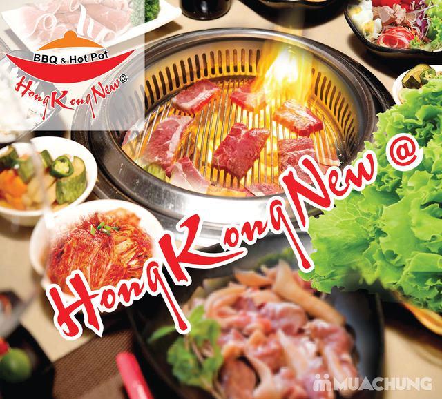 Buffet nướng lẩu cao cấp HongKong New free đồ uống Buffet BBQ & Hot Pot Hong Kong New - 2