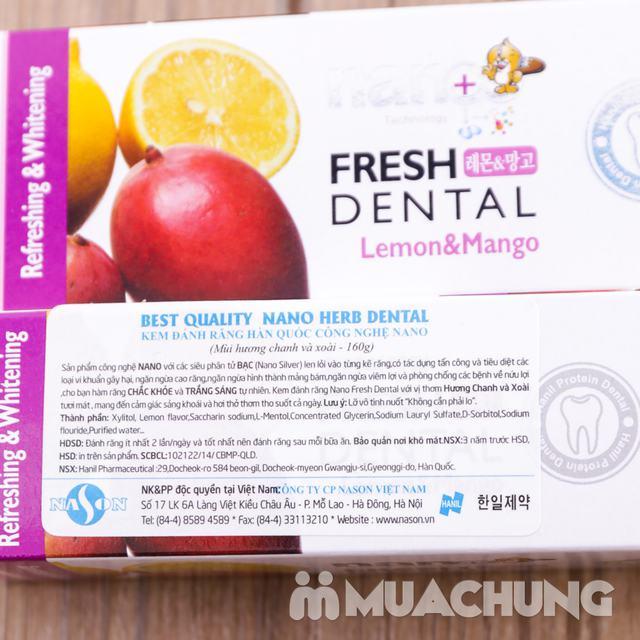 2 hộp kem đánh răng Hàn Quốc hương chanh & xoài - 2