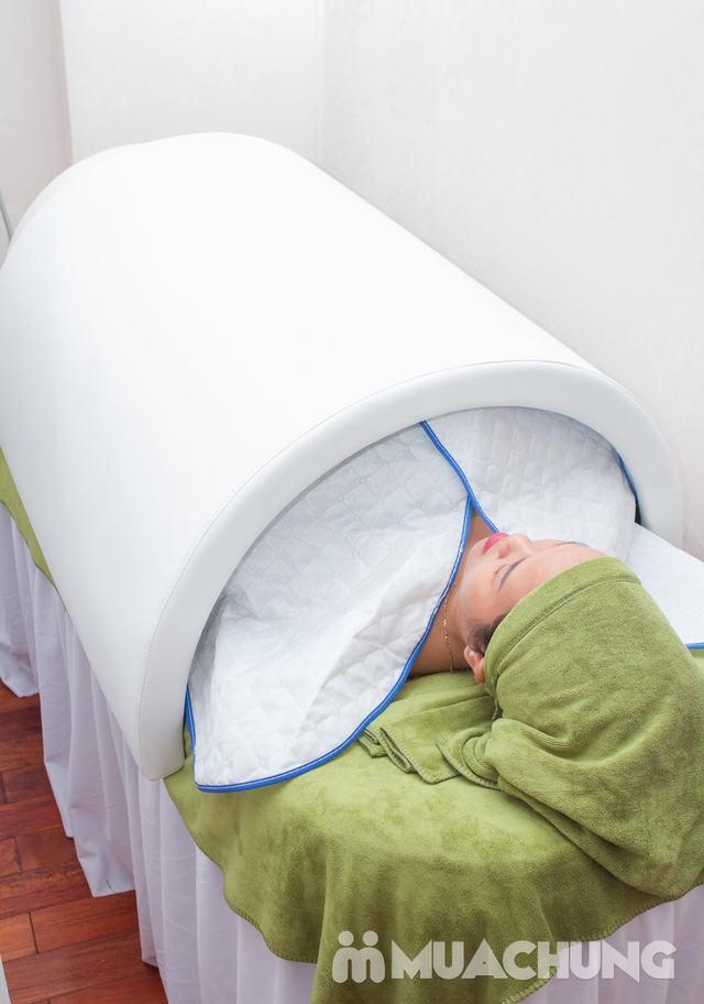 Massage Body Nhật Bản chạy tinh dầu đá nóng thư giãn toàn thân QUEEN SPA - 5