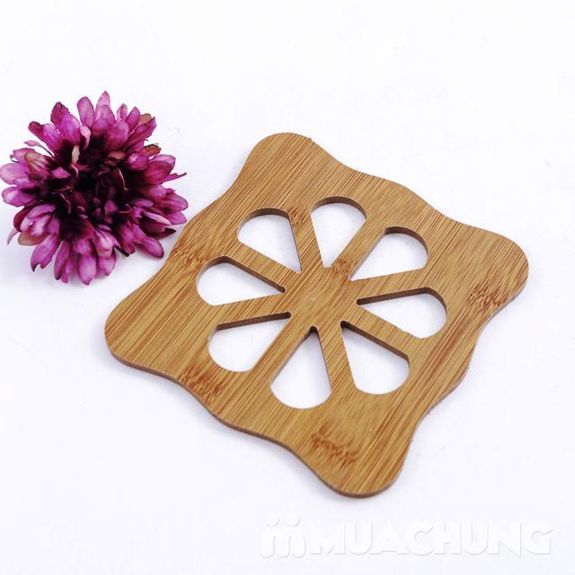 Combo 3 đế lót nồi bằng gỗ chịu nhiệt - 9